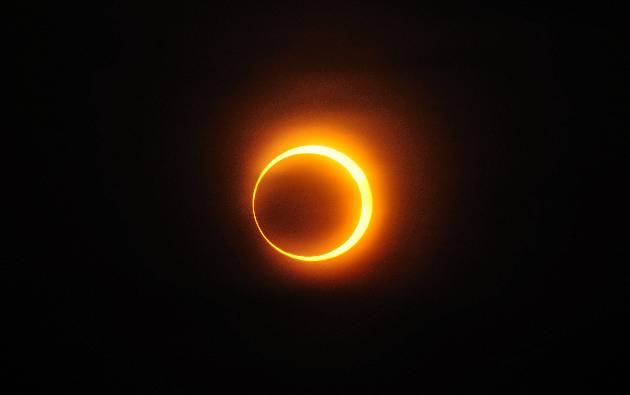 Solar annular eclipse of Janua