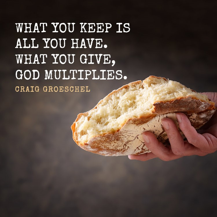 God multiplies